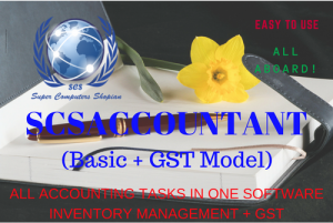Basic accounting plus gst integrated model