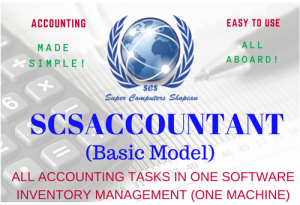 SCS Accounting Software basic model